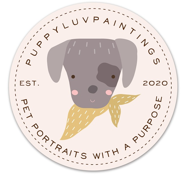 Puppy Luv Paintings Logo